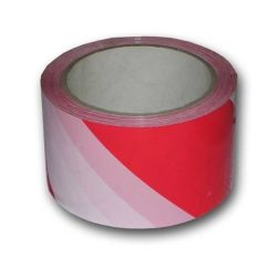 Sperrebånd 100m Rødt&Hvit